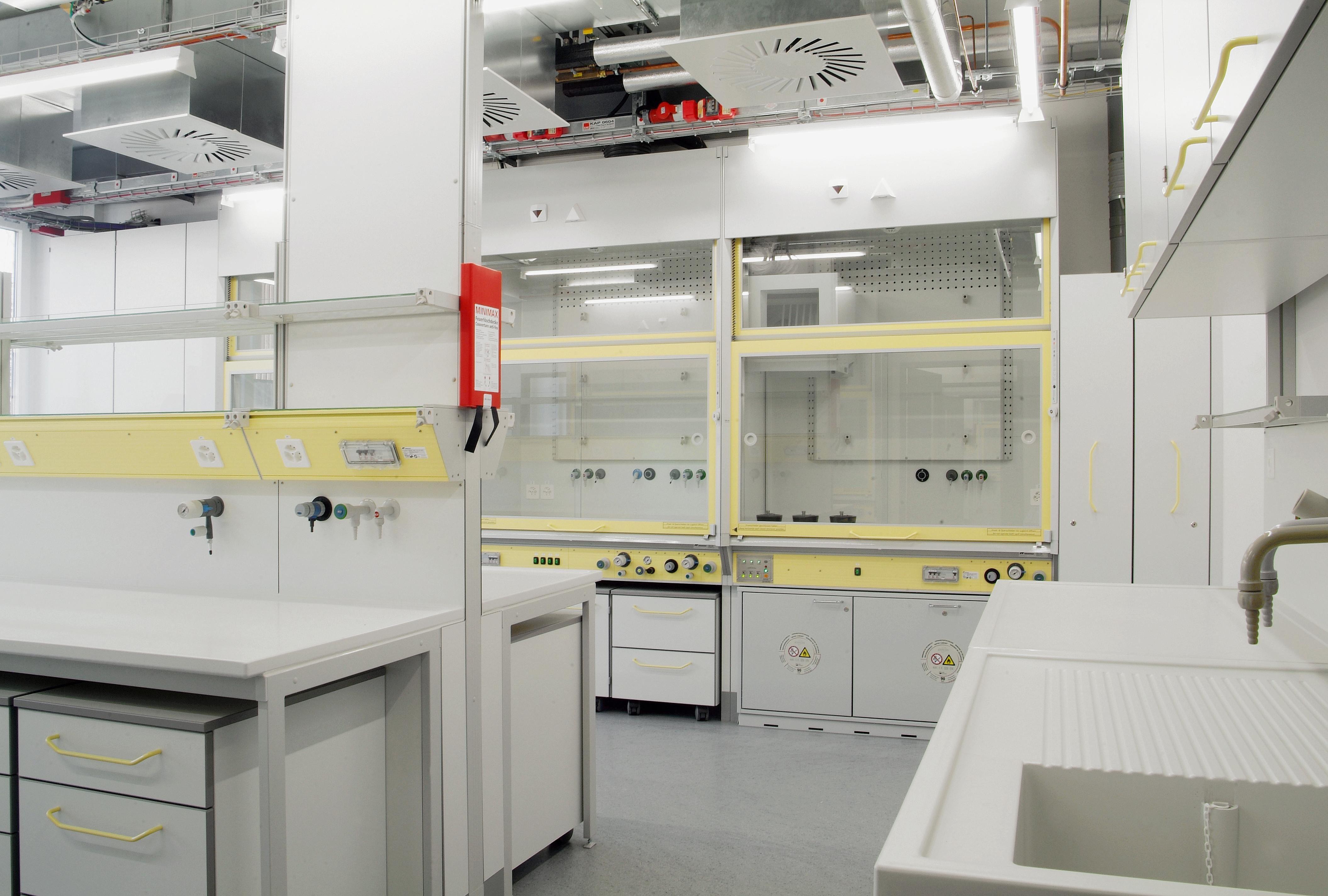 Ansicht eines Labors